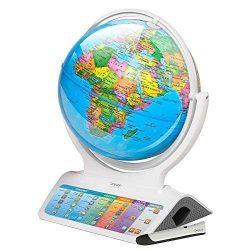 globo terraqueo interactivo diset smart globe infinity blanco