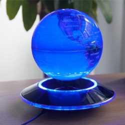 globo flotante azul
