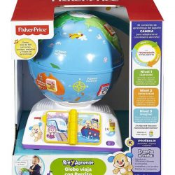 globo terraqueo interactivo fisher price