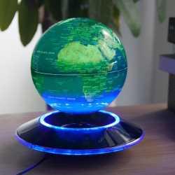 globo levitante verde